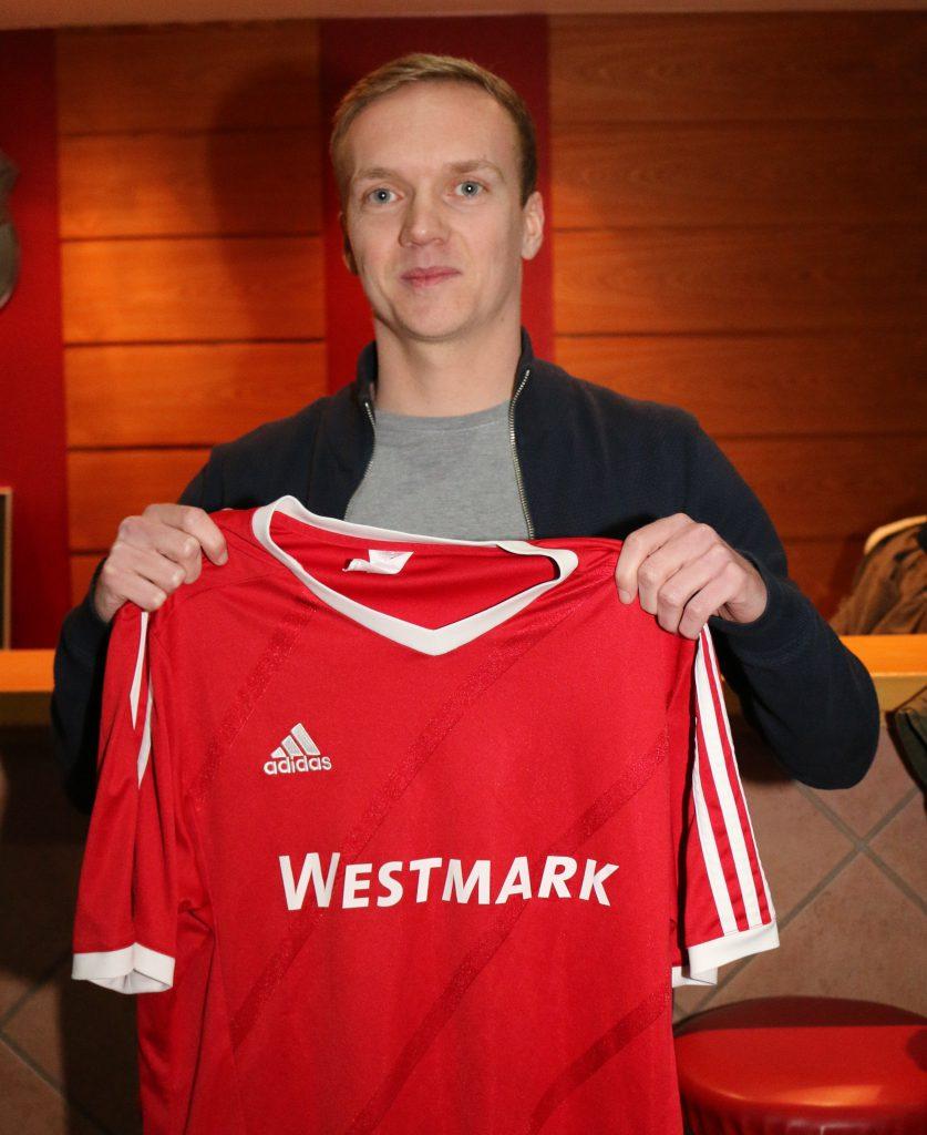 Mittelfeldspieler Simon Keine, 25 J. (bisher FSV Helden)